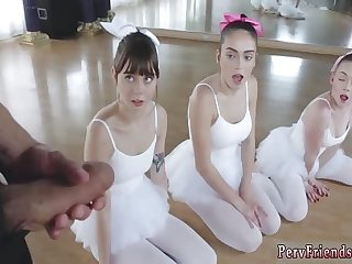 Group piss and bondage xxx Ballerinas