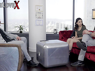 TOUGHLOVEX Dr Karl shows Charles how to make her cum