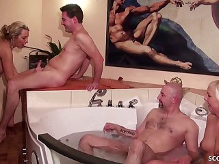 german swingers filthy group sex