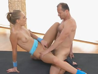 Petite cutie banged by stranger