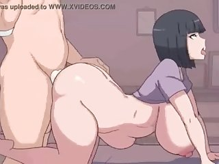 Big tits Goddess Hinata Hyuuga gets fucked in her massive ass