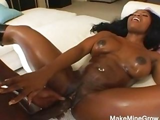 Hot Ebony For Hot Black Man