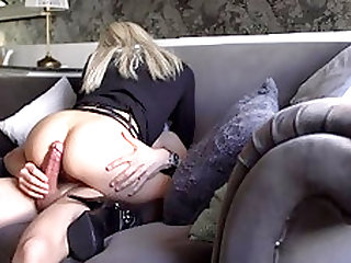 Escort Gorgeous Blonde Fuck In Sexy Lingerie At Hotel Room