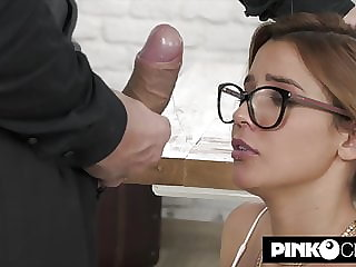 Agatha Vega – stunning young secretary assfucked by Christian