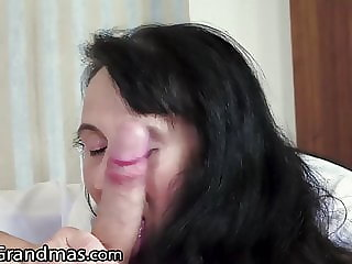 LustyGrandmas - I Banged My Mature Hot Maid Hard With Facial