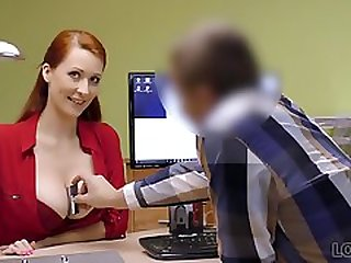 LOAN4K. Loan Agent Can Assist Red-haired Beauty If...