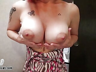 Mom Takes stepSon's Virginity Before Bootcamp - Jane Cane
