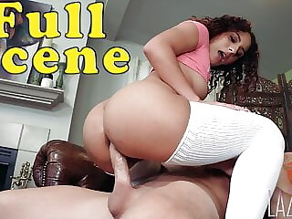 Fuck My Ass, Stepdaddy: Liv Revamped, ANAL FULL SCENE with Laz Fyre