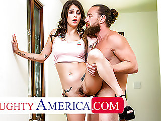 Naughty America - Maddy May hooks up with  a big dick