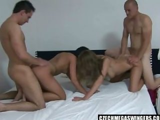 blowjob, facial, orgy, groupsex, amateur, cumshot, homemade, swingers, blonde, hardcore, big-tits, czech, pussy-eating
