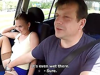 Czech Whore Getting Pounded In The Car