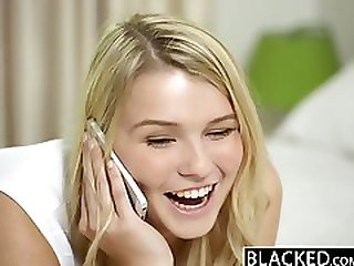 BLACKED Blonde Teen Melissa May Fucks Her Moms Boyfriend