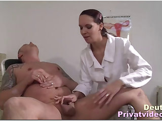 Hot doctor Anita decides to fuck her patient