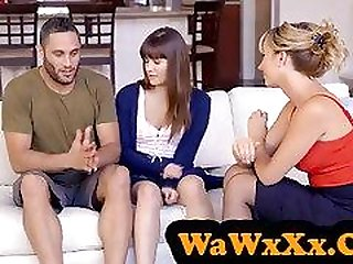 Hot Teacher Tricks Students Into Threeway Fuck - WaWxXx.Com