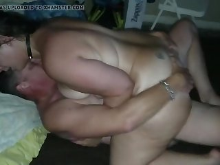 Bitch wife shared with stranger with cum shot