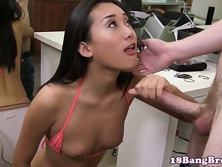 Real young asian enjoy facial session
