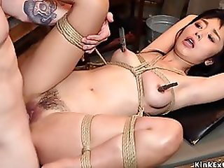 Japanese Hairy Spinner Nailed Bdsm