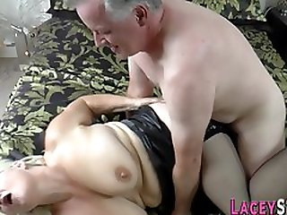 Slutty Pensioner Railed