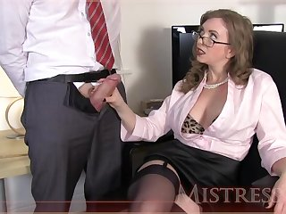 Testing New Office Fuck Toy