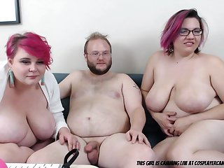 two bbws one cup... amateur