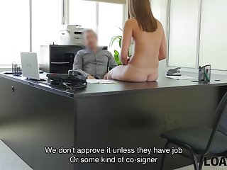 LOAN4K. Perfect coed owned by agent because needs money