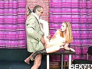 Mouthwatering Sweetie Craves For Stick And Gets It