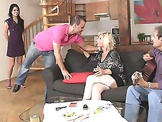 Old Couple Seduce And Fuck Sons Young Girlfriend