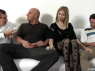 A French Ho Gets Double Penetrated By Two Big Cocks. Full Clip.