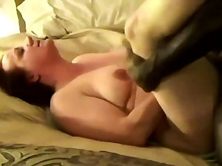 Slut Ann orgasms from the power of bareback BBC