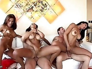 horny brazilian group hardcore - claudia bella