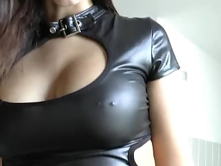 Girl in Latex Miniskirt having best sex ever