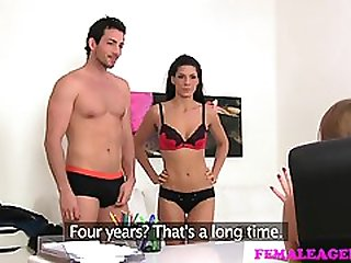 Stunning Couple Goes On Porn Casting