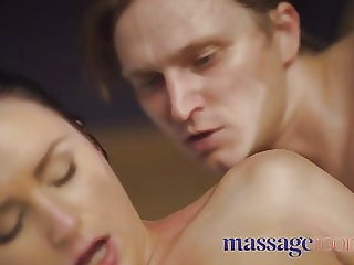 Massage Rooms Shy woman Kittina Clairette cheats on husband