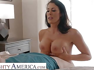 Naughty America - Reagan Foxx needs some young cock!!
