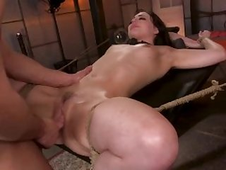 Seth Gamble Fucks Lawyer Whitney Wright as She Pleads for Deep Anal