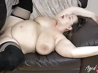 AgedLovE Busty Mature Interracial Hardcore