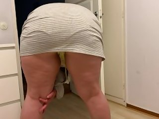 Bbw Amateur big ass, I gat so Hony looking at my own recoding, she thick