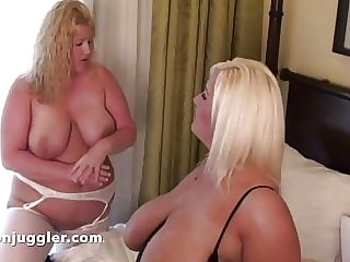 Two big titted milf fucked doggy style a dream comes true