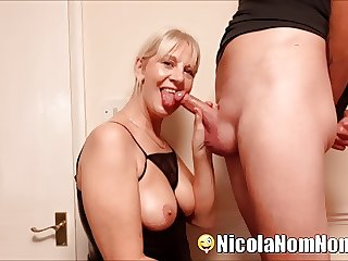 Sucking Young Neighbours Cock For My Pervert Husband