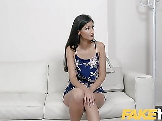 Fake Agent Stunning German babe given porn interview lesson