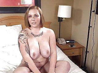 Young Strawberry Blonde Duped Into Her First Big Black Cock!