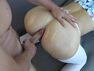 Sissy Porn - Breeding Anal Creampie. Cum in Ass. Get Stuffed. Cock and Cum.