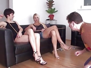 Female domination Females dominate slaves